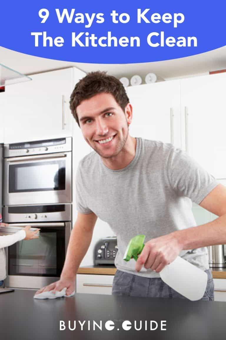 9 Easy Ways to Keep the Kitchen Clean