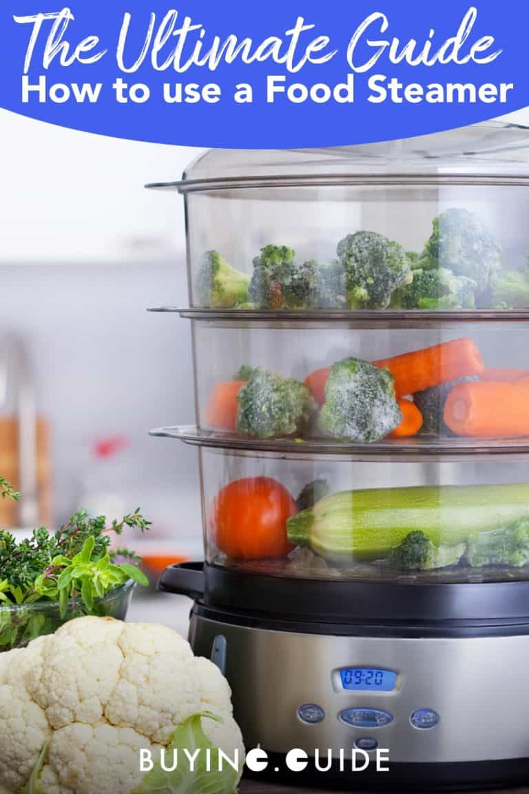 How to use a food steamer